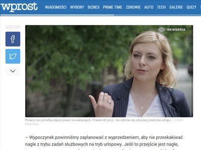Prawie 40 proc. Polaków nie odcina się od pracy podczas urlopu