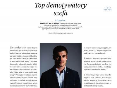 TOP DEMOTYWATORY SZEFA
